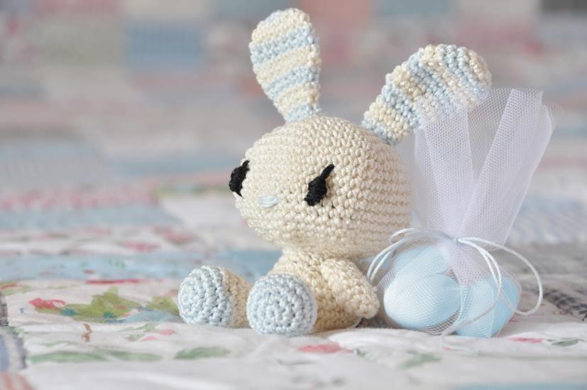 Tutorial CONIGLIETTO amigurumi all'uncinetto - Crochet RABBIT ... | 549x827