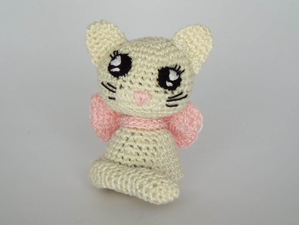 Gattino Amigurumi Alluncinetto.it