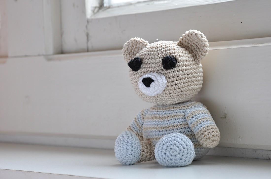 Orsetto Portachiavi Amigurumi Tutorial - Bear Crochet - Osito ... | 729x1100