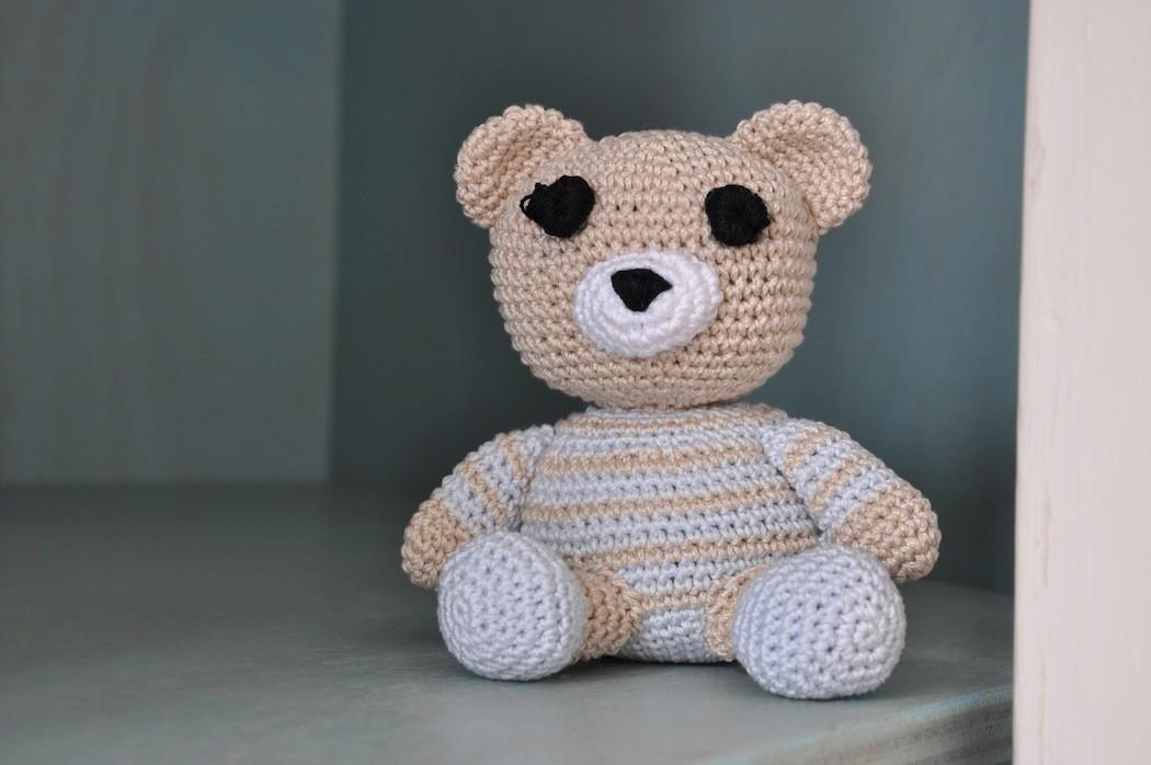 Orsetto Portachiavi Amigurumi Tutorial 🧸 Bear Crochet - Osito ... | 698x1050