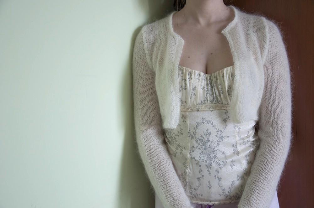 Borse Di Lana Alluncinetto Per Bambini : Coprispalle in lana mohair ai ferri alluncinetto