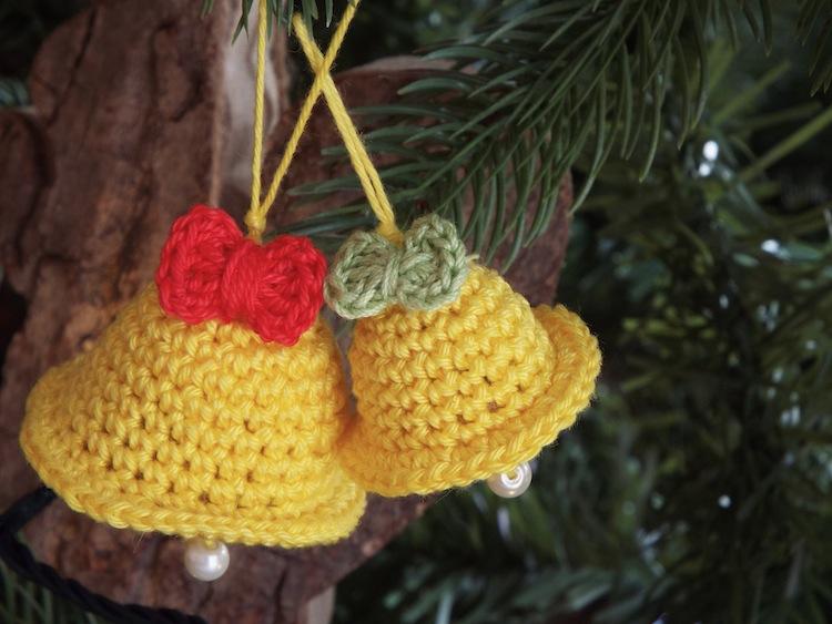Tutorial pupazzi natalizi ad uncinetto - (mini amigurumi crochet ... | 563x750