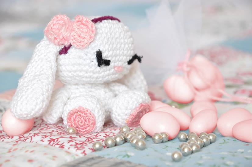 coniglietto amigurumi schema gratis free uncinetto crochet | 549x827