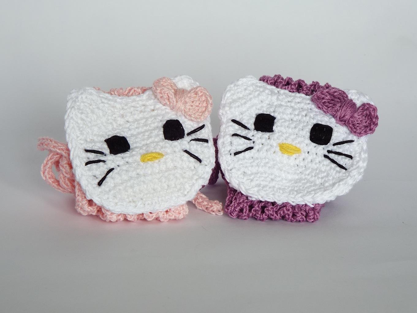 Hello Kitty Amigurumi Schema Italiano : Fascia per Capelli di Hello Kitty Alluncinetto.it